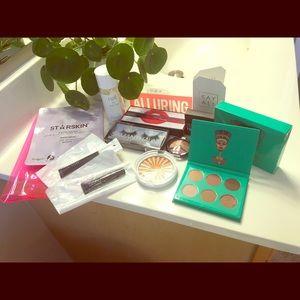 Bundle of makeup & skincare samples